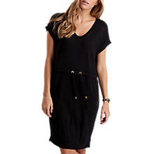 Buy Barbour International Jersey Tunic Dress, Black Online at johnlewis.com