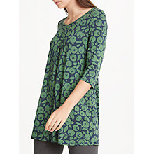 Buy Seasalt Arusha Tunic Top, Blueberries Dark Night Online at johnlewis.com