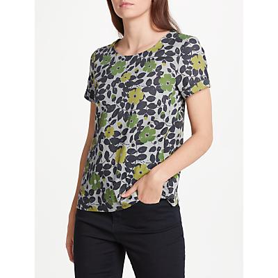 Seasalt Claytrails Floral T-Shirt, Spring Buds Herring