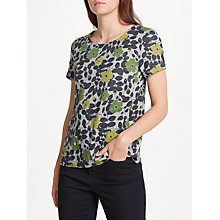 Buy Seasalt Claytrails Floral T-Shirt, Spring Buds Herring Online at johnlewis.com