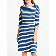 Buy Seasalt Stay Sail Dress, Breton Cadet Ecru Online at johnlewis.com
