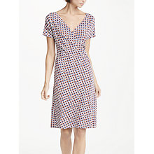 Buy Weekend MaxMara Printed Jersey Dress, Brown Online at johnlewis.com