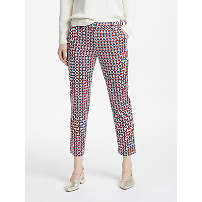 Weekend MaxMara Cico Cotton Satin Trousers, Brown