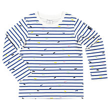 Buy Polarn O. Pyret Children's Ant Top, White Online at johnlewis.com