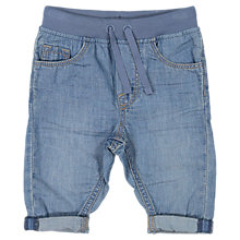Buy Polarn O. Pyret Baby Denim Trousers, Denim Online at johnlewis.com