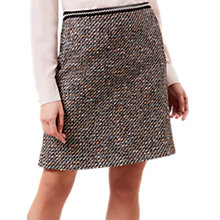 Buy Hobbs Lucia Skirt, Black Multi Online at johnlewis.com