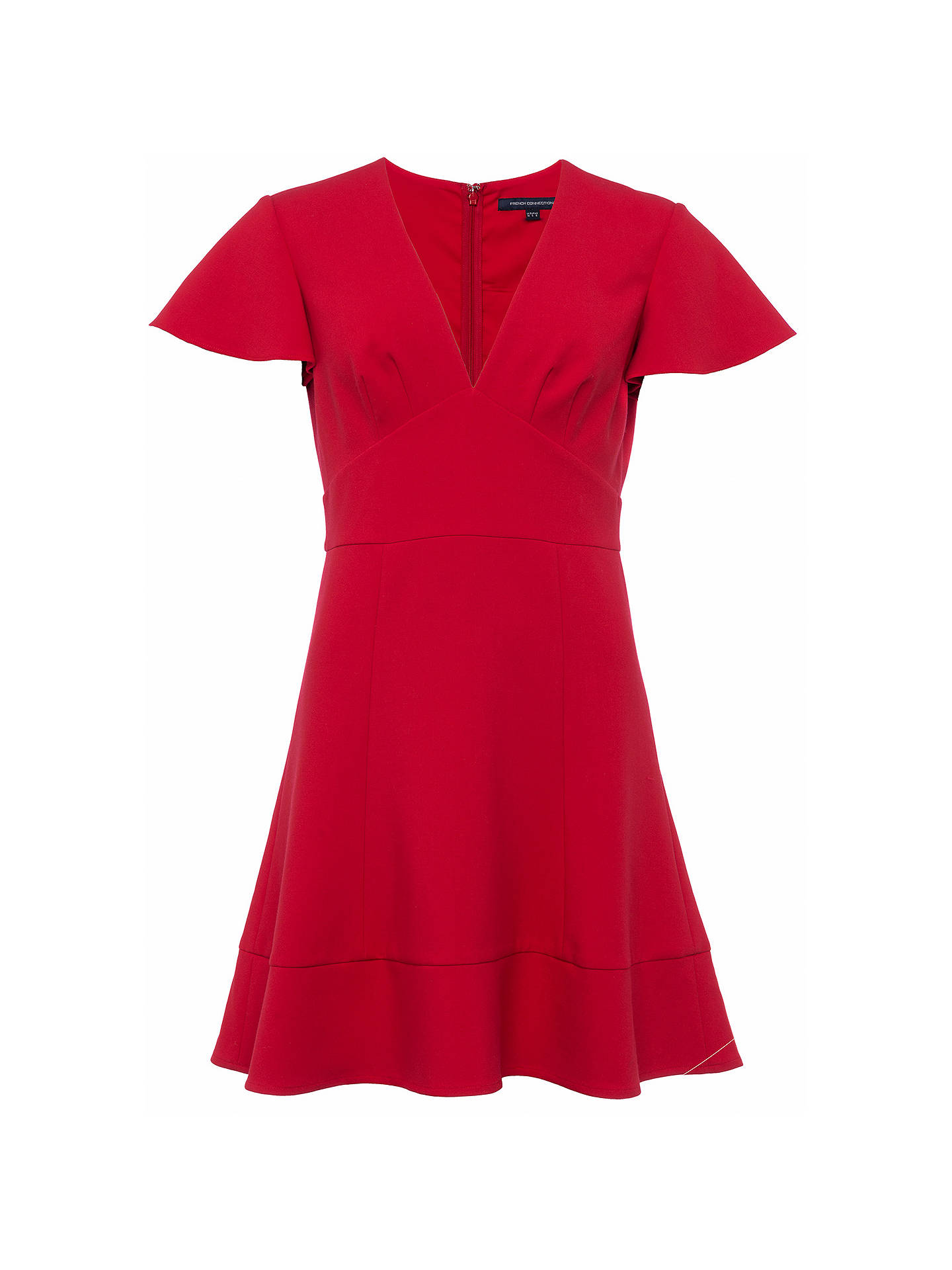 BuyFrench Connection Ruth Dress, Blazer Red, 6 Online at johnlewis.com