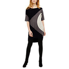 Buy Phase Eight Ida Intarsia Tunic Dress, Blue/Multi Online at johnlewis.com