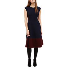 Buy Phase Eight Shez Panelled A-Line Dress, Blue/Multi Online at johnlewis.com