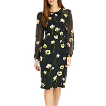 Buy Phase Eight Sorina Printed Floral Dress, Peacock Online at johnlewis.com