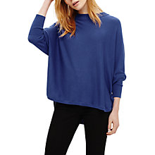 Buy Phase Eight Sydney Batwing Jumper, Cornflower Blue Online at johnlewis.com