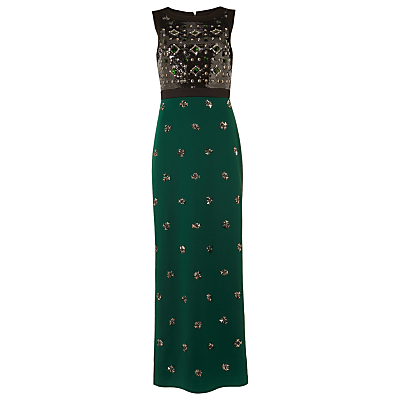Phase Eight Collection 8 Gabby Embellished Dress, Green