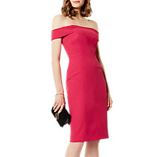 Buy Karen Millen Boned Bardot Dress Online at johnlewis.com