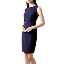 Buy Hobbs Polly Dress, Navy Online at johnlewis.com