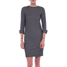 Buy French Connection Sario Utility Dress, Blue/Linen White Online at johnlewis.com