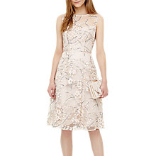 Buy Phase Eight Sable Embroidered Dress, Pink Online at johnlewis.com