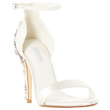 Buy Dune Bridal Collection Married Stiletto Heel Sandals, Ivory Online at johnlewis.com