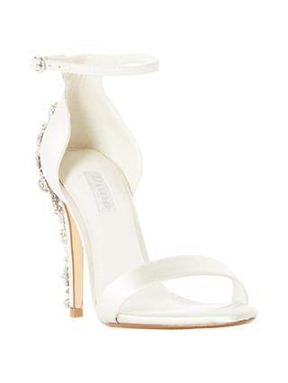 Dune Bridal Collection Married Stiletto Heel Sandals, Ivory