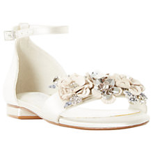 Buy Dune Bridal Collection Nightingale Sandals, Ivory Online at johnlewis.com
