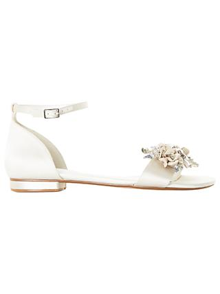 Dune Bridal Collection Nightingale Sandals, Ivory