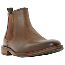 Buy Dune Conor Leather Chelsea Boots Online at johnlewis.com