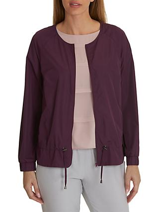 Betty & Co. Unlined Bomber Jacket, Blackberry