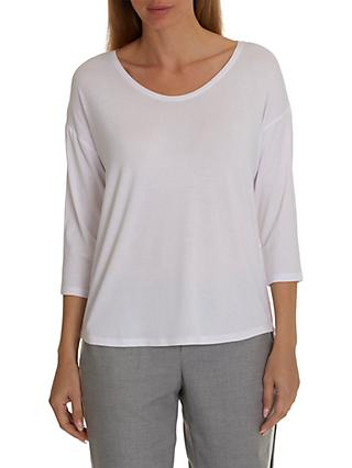 Betty & Co. Three-Quarter Sleeved T-Shirt, Bright White