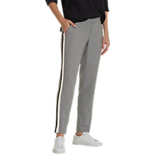 Buy Betty & Co. Sporty Trousers, Light Silver Melange Online at johnlewis.com