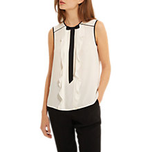 Buy Gerard Darel Cecile Blouse, Ecru Online at johnlewis.com