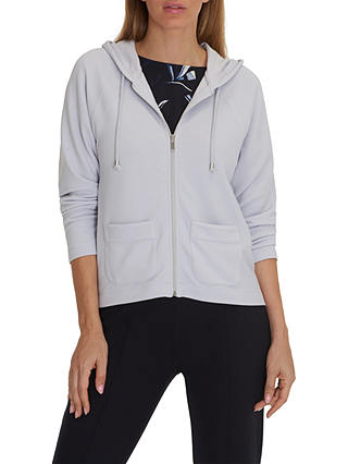 Buy Betty & Co. Fine Ribbed Cardigan, Light Silver, 10 Online at johnlewis.com