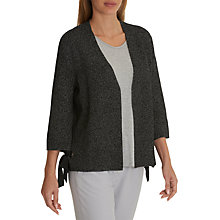 Buy Betty & Co. Flecked Cardigan, Grey/White Online at johnlewis.com