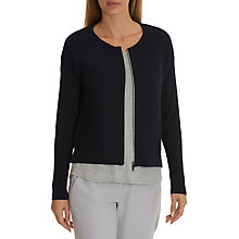 Buy Betty & Co. Ribbed Cardigan, Mood Blue Online at johnlewis.com