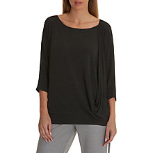 Buy Betty & Co. Wrap Top, Light Silver Melange Online at johnlewis.com