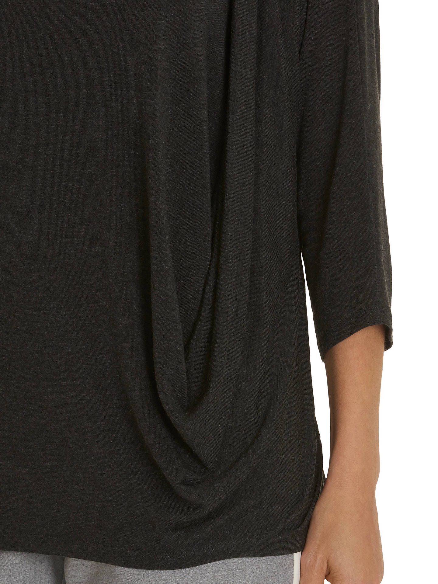 Buy Betty & Co. Wrap Top, Light Silver Melange, 10 Online at johnlewis.com
