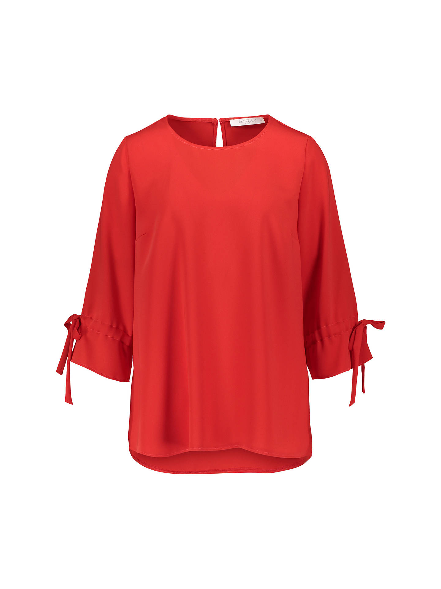 BuyBetty & Co. Long Blouse, Tomato, 10 Online at johnlewis.com