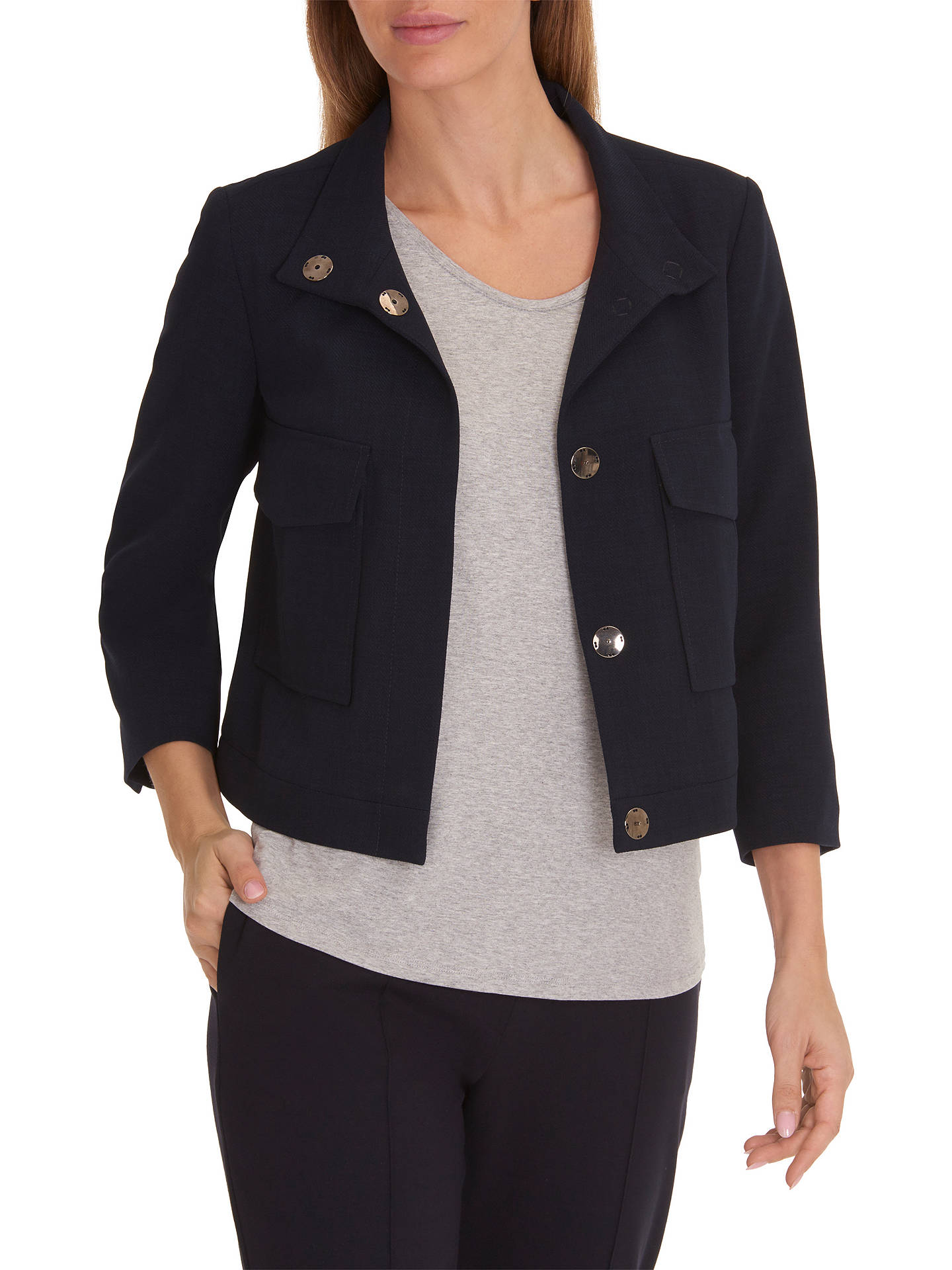 BuyBetty & Co. Short Tailored Jacket, Night Sky, 10 Online at johnlewis.com