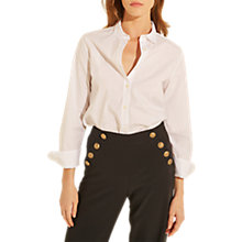 Buy Gerard Darel Charly Blouse, White Online at johnlewis.com