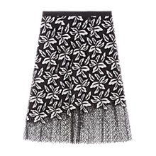 Buy Gerard Darel April Skirt, Black/Multi Online at johnlewis.com