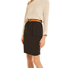 Buy Gerard Darel Agnes Skirt, Blue Online at johnlewis.com