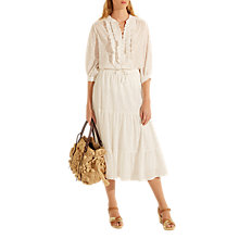 Buy Gerard Darel Arlene Skirt, White Online at johnlewis.com