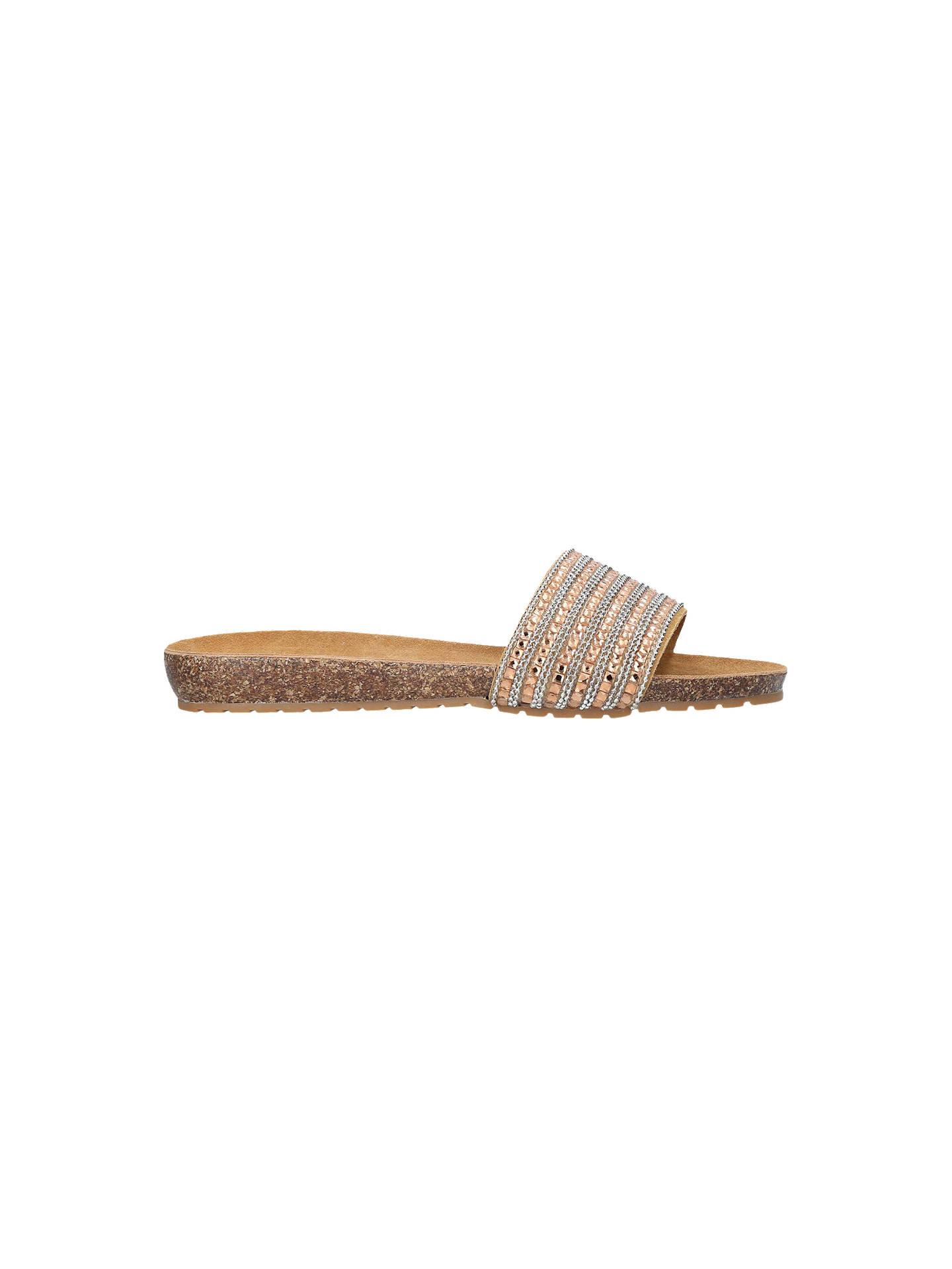 ceafc74af66 Carvela Comfort Super Suede Slip On Sandals, Bronze