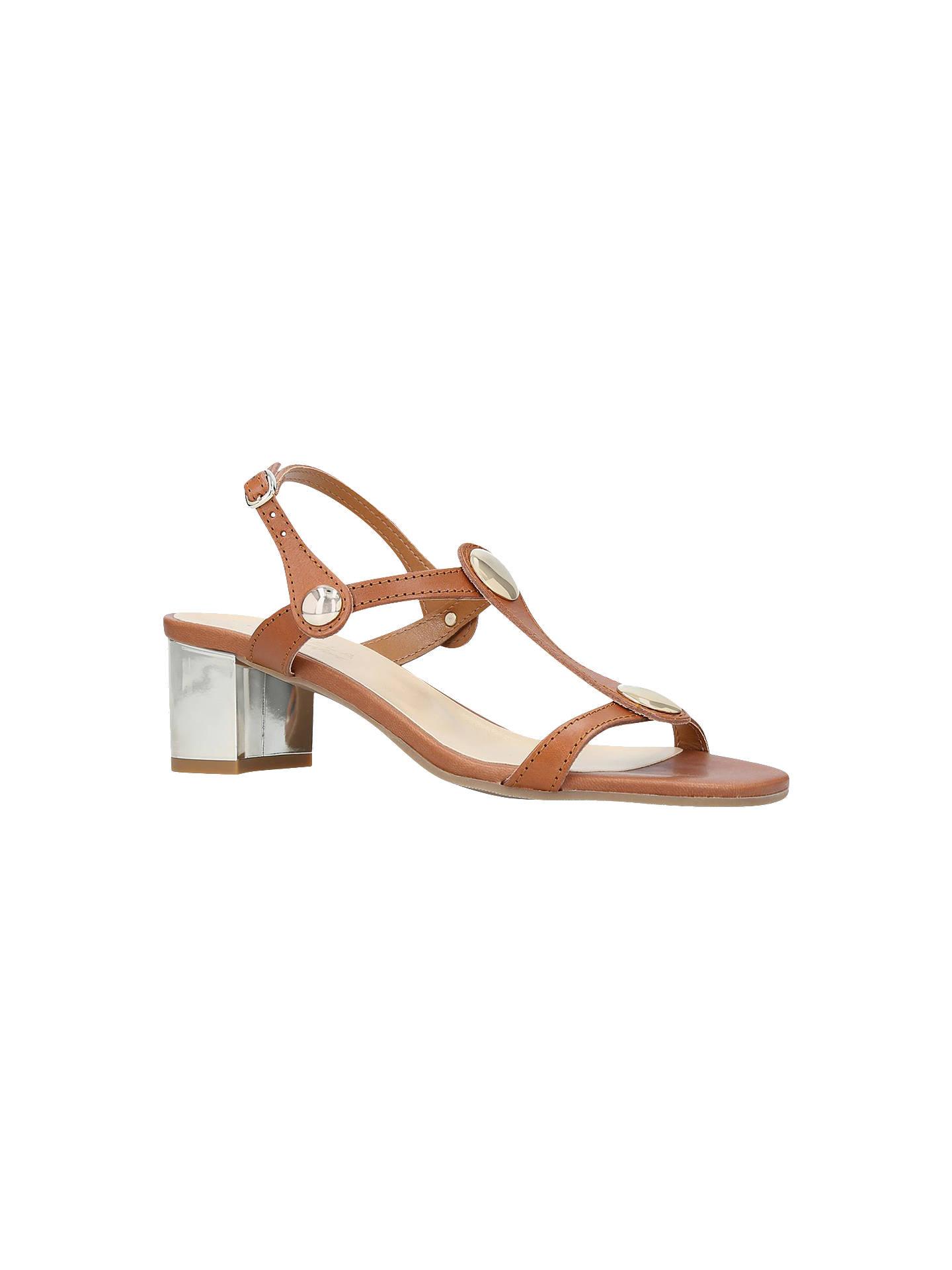 Buy Carvela Comfort Sammie T-Bar Block Heel Sandals