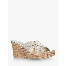 Buy Carvela Comfort Stephanie Wedge Heel Sandals Online at johnlewis.com