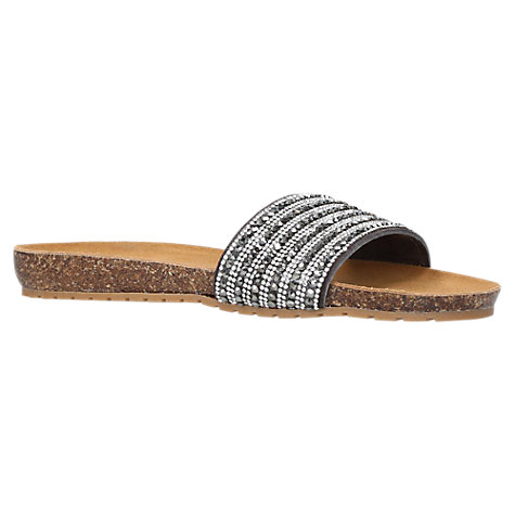 Buy Carvela Comfort Super Suede Slip On Sandals Online at johnlewis.com
