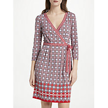 Buy Max Studio Jersey Wrap Dress, Multi Online at johnlewis.com