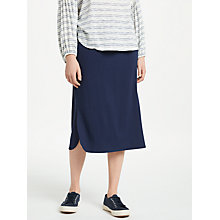 Buy Max Studio Jersey Skirt, Navy Online at johnlewis.com
