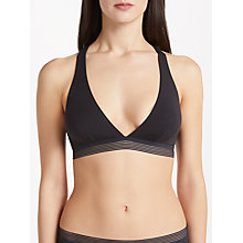 Buy Elle Macpherson Body Cool Crop Top, Jet Black Online at johnlewis.com