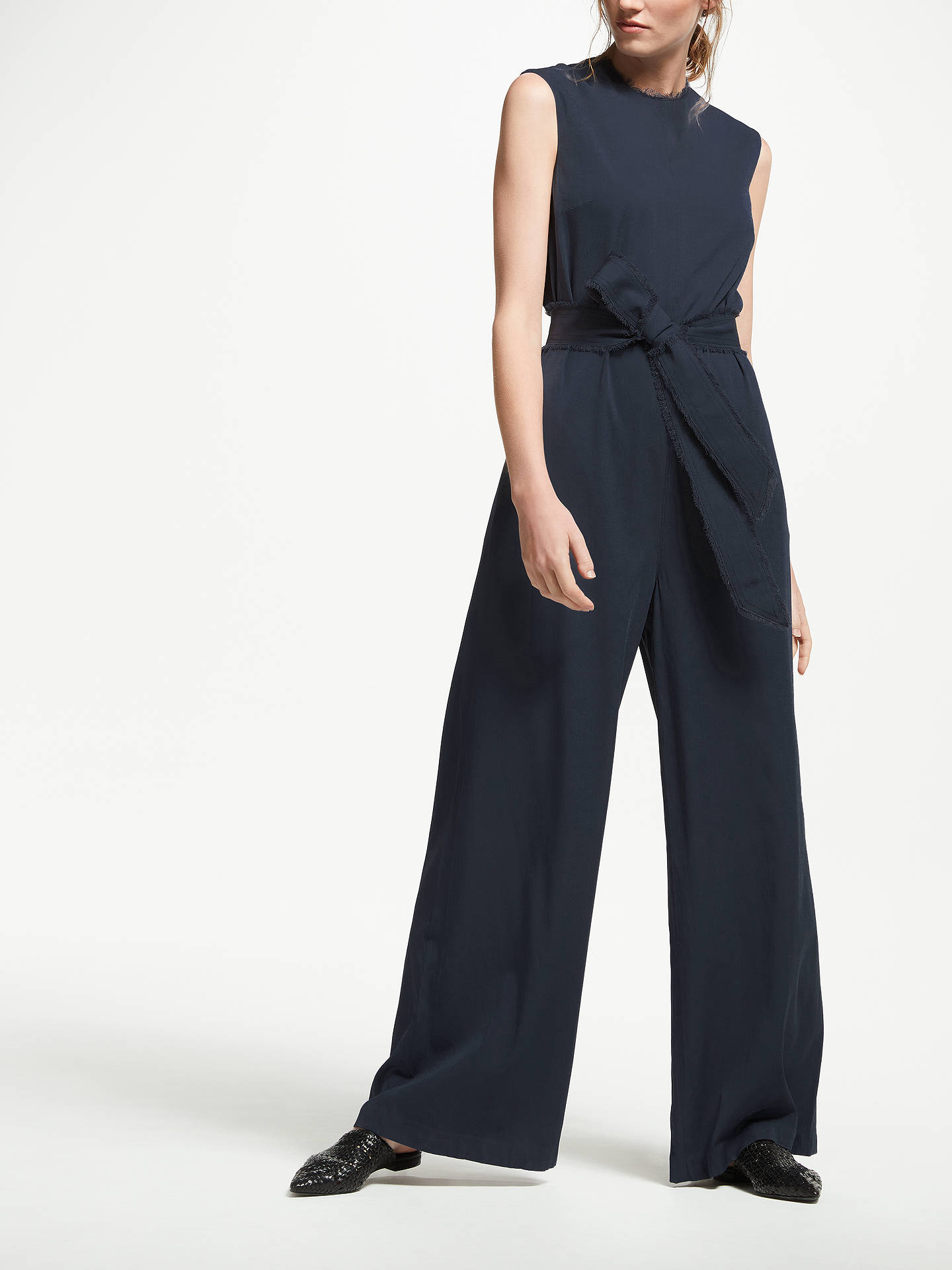 BuyModern Rarity Relaxed Jumpsuit, Blue Steel, 8 Online at johnlewis.com