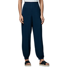 Buy East Harem Trousers, Indigo Online at johnlewis.com
