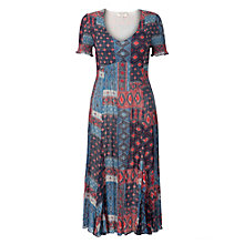 Buy East River Lombok Print Dress, Multi Online at johnlewis.com